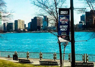Detroit Mercy Lightpole Banner for MCM 17