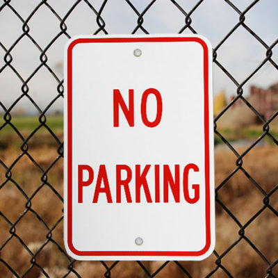 Stock Parking Signs