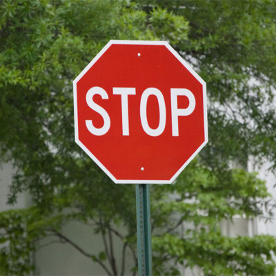 Stock Traffic Signs