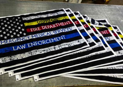American Flags with an EMS twist