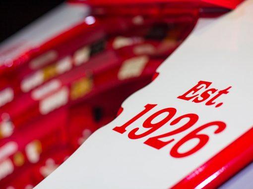 Custom Red Wings Organ at Little Caesars Arena